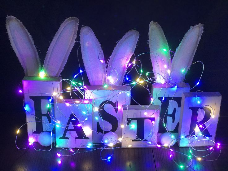 Easter OR Spring Time Pastel LED Silver Wire Battery String Lights with Timer Wire Light Battery Operated Decorative Lighting for Bedroom Patio Christmas Wedding Parties