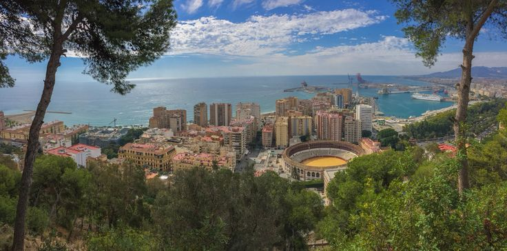 Malaga beautiful view