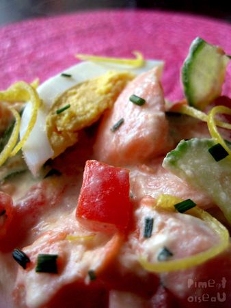 Salade tahitienne  by Piment Oiseau