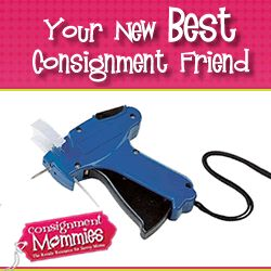 """Many savvy swap mamas (that tag hundreds or thousands of clothing items) will tell you that this little """"life saver"""" is a treasured secret amongst the consigning elite! #consignment"""