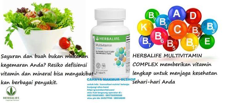 Multi Vitamin  HARGA PROMO: Rp. 225.000 #herbalife #nutrishake #nrg #herbaltea #thermojetictea #fiber #aloe #lipobond #proteinpowder #hargamurah #diet #dietlangsing #dietaman #dietalami www.grosirdanritel.com hub langsung operator di 082150003685 / 085750550500 atau pin bb: 2A527F68 / 2B93AE89