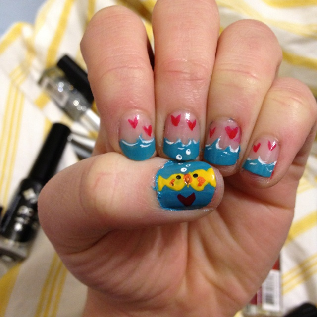 download this Fish Nails picture