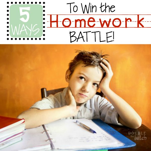 Getting homework done | Homework for kids - Netmums