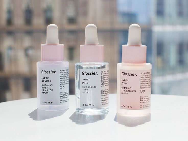 Everything you need to know about Glossier the Supers Serums, which hydrate, purify, and add glow to skin.