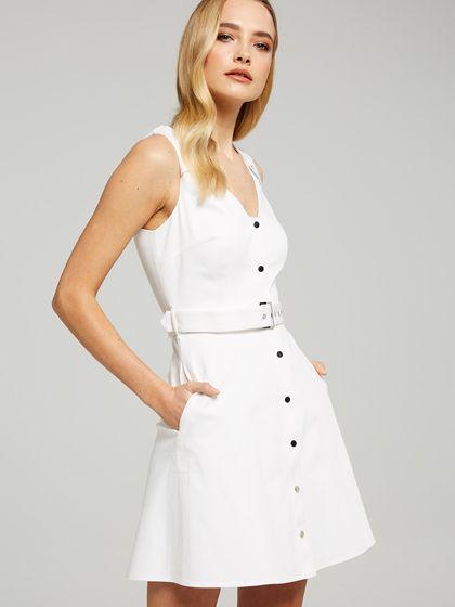 Isla Button Through Dress