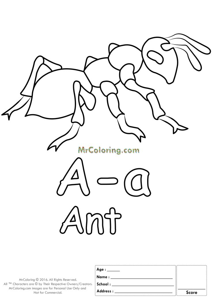free printable alphabet letter aa coloring pages coloring worksheets coloring books uppercase lowercase and traceable drawing