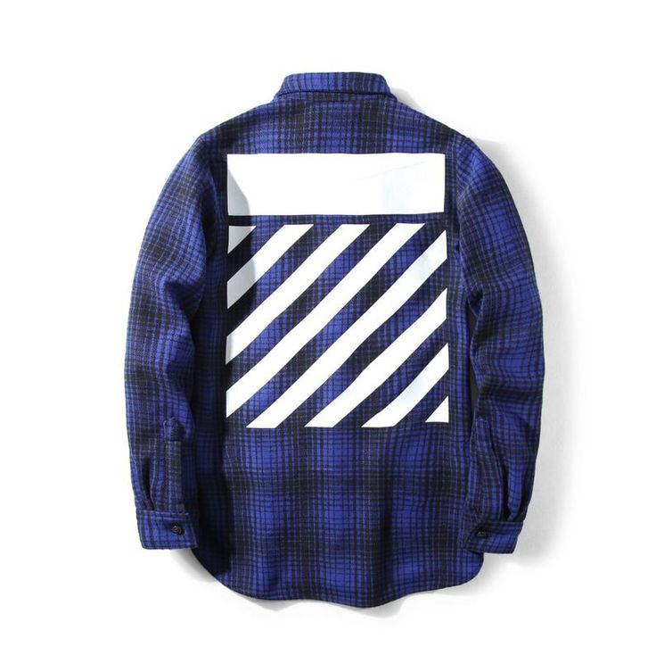 There's a thin line between streatwear and high-end fashion. Off-white blurs the line in between with this Flannel shirt. It's your classic flannel shirt with two buttoned pockets in front. Check out more designs at shopurl.com #OFFWhite #OFFWhiteClothing