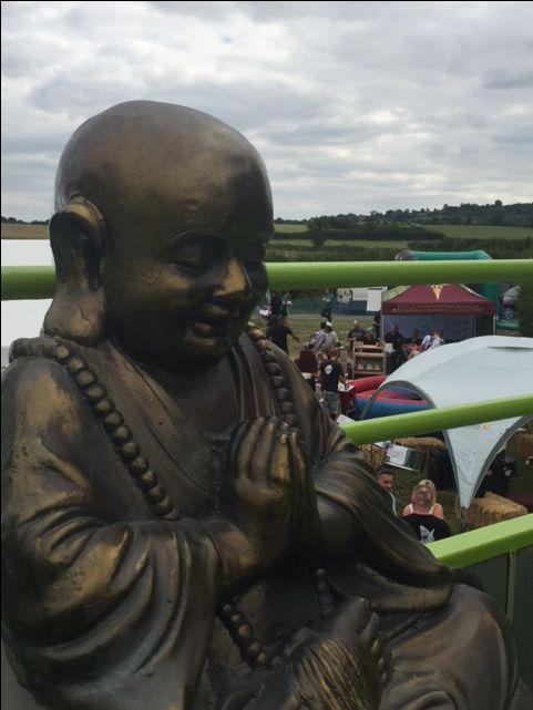 Buddha facing the east  #karmanotdrama