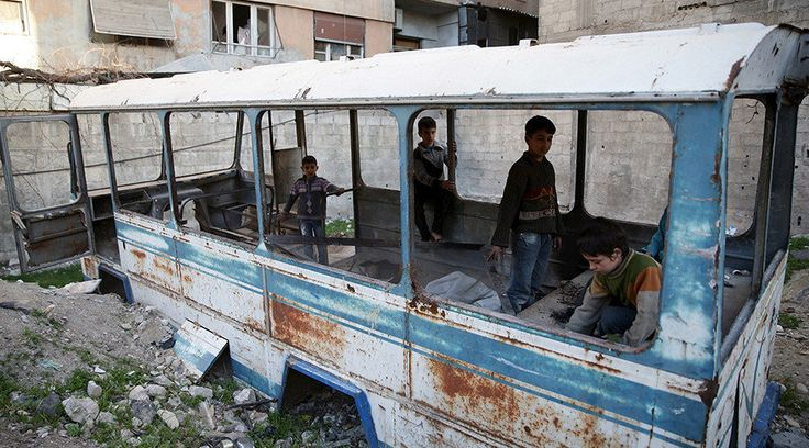 Courtesy of NATO: Syrian children's lives shaped by violence and deprivation