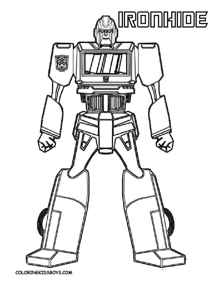 transformers coloring pages - Transformer Coloring Pages