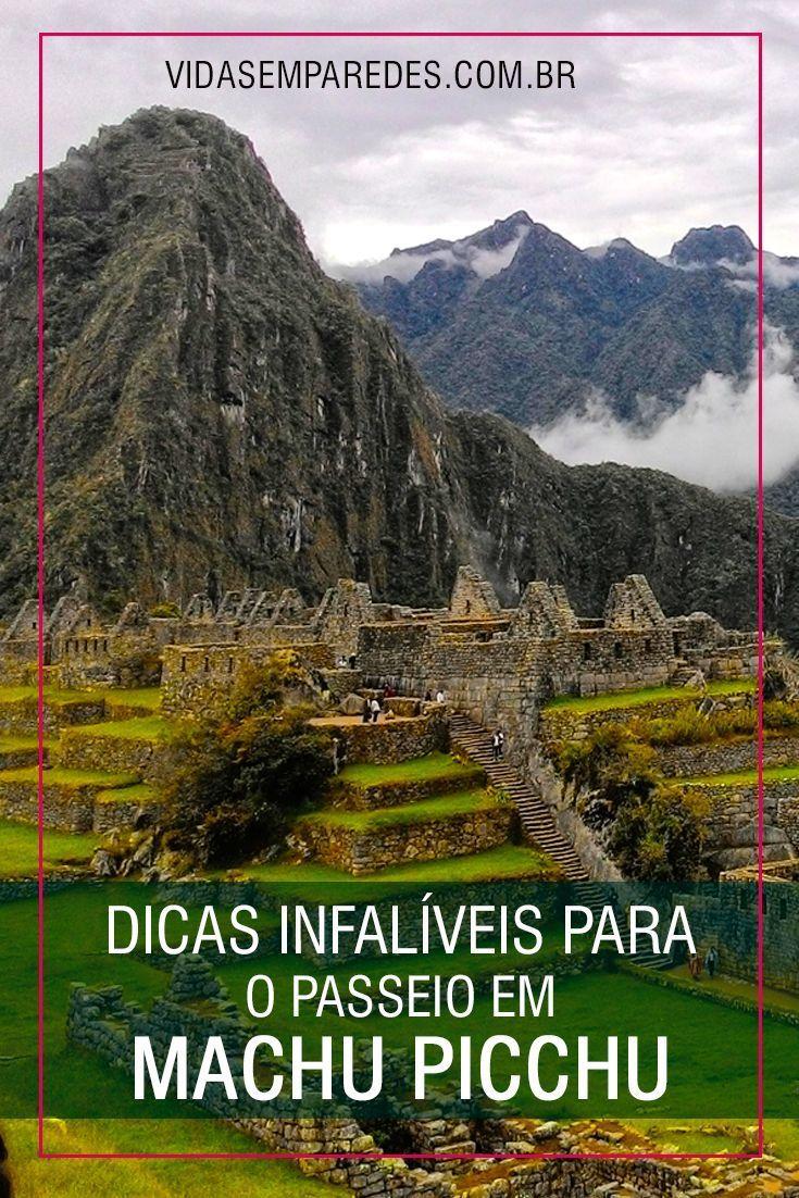 Dicas para o passeio em Machu Picchu; o que levar para Machu Picchu.