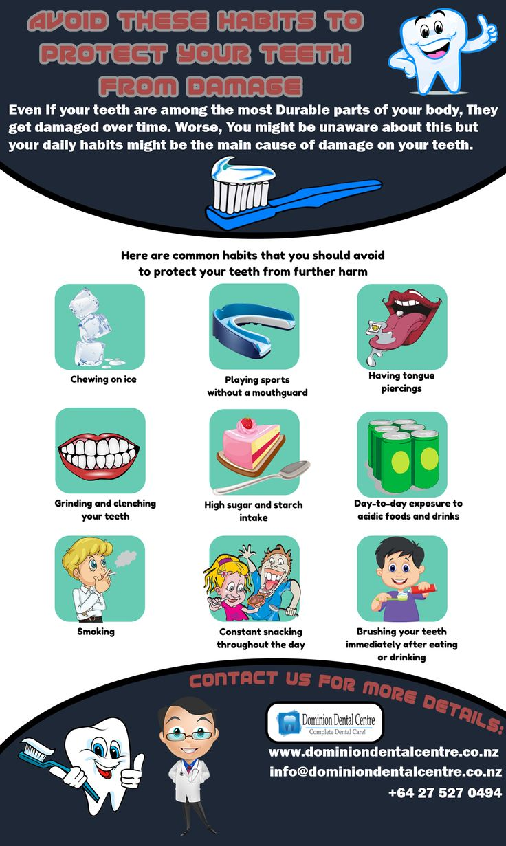 Avoid These Habits to Protect Your Teeth From Damage