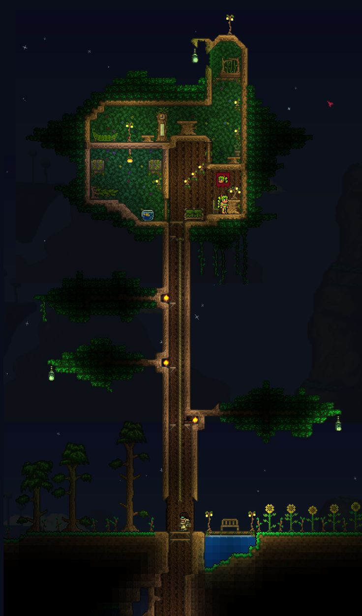 terraria how to make people move in