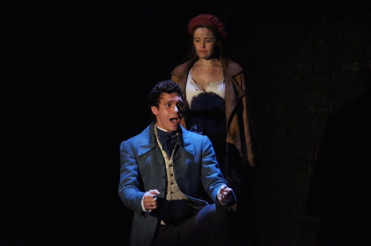 Marius and Eponine played by Euan Doidge and Kerrie Ann Greenland..2015. Australia