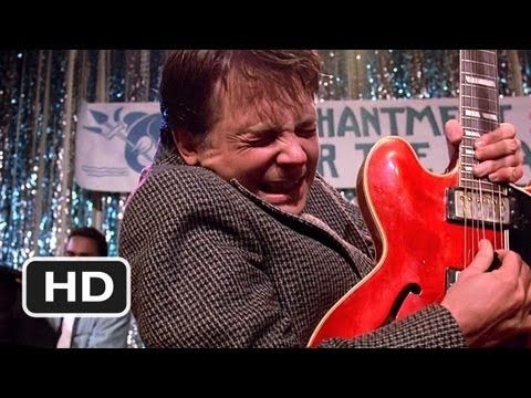 Back to the Future - Johnny B. Goode (1985)   27 Unexpected Musical Movie Moments That Were Actually Awesome