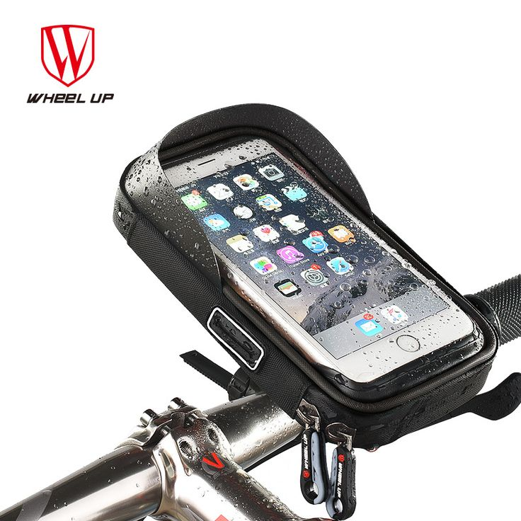 WHEEL UP Bike Bicycle Phone Bag Rainproof TPU Touch Screen Cell Phone Holder Bicycle Handlebar Bags MTB Frame Pouch Bag 2017 -  http://mixre.com/wheel-up-bike-bicycle-phone-bag-rainproof-tpu-touch-screen-cell-phone-holder-bicycle-handlebar-bags-mtb-frame-pouch-bag-2017/  #BicycleBagsPanniers