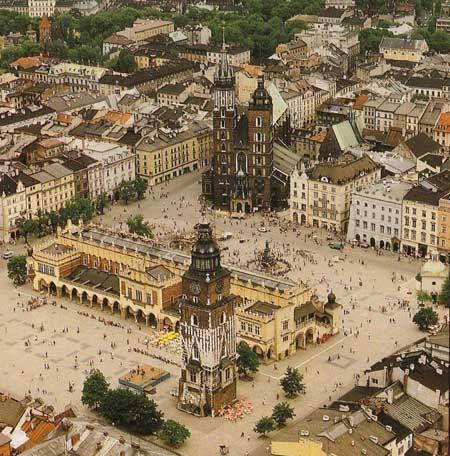 Place du Grand Marché, Cracovie