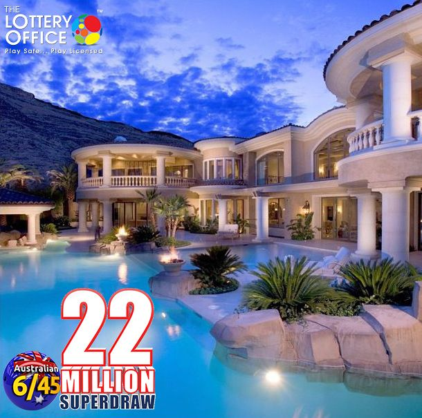 $22 million Aus 6/45 Superdraw will be drawn this Saturday. Don't miss out! #lotteryoffice https://lotteryoffice.com/adclick?campaignId=26&utm_content=buffer82a1c&utm_medium=social&utm_source=pinterest.com&utm_campaign=buffer