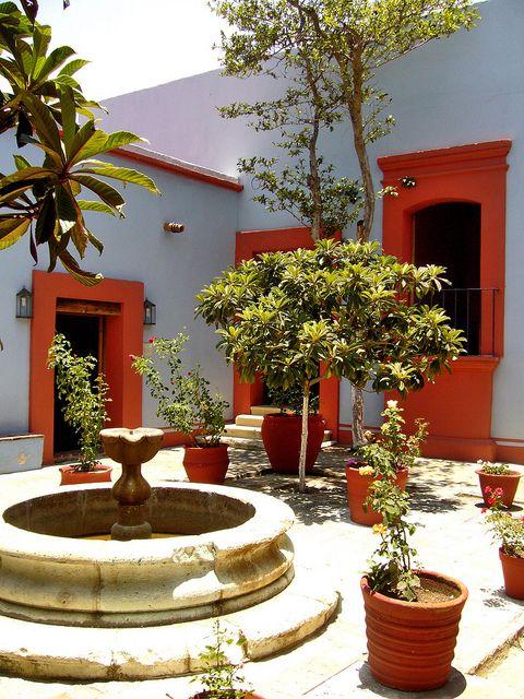 Casa Benito Juarez en Oaxaca. México