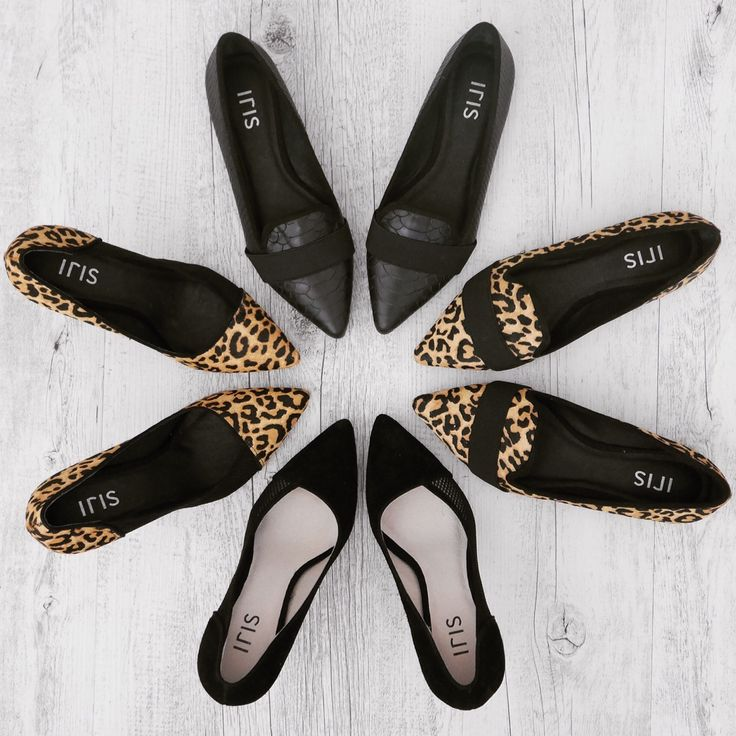 THEA & WILLOW / printed flats and heels