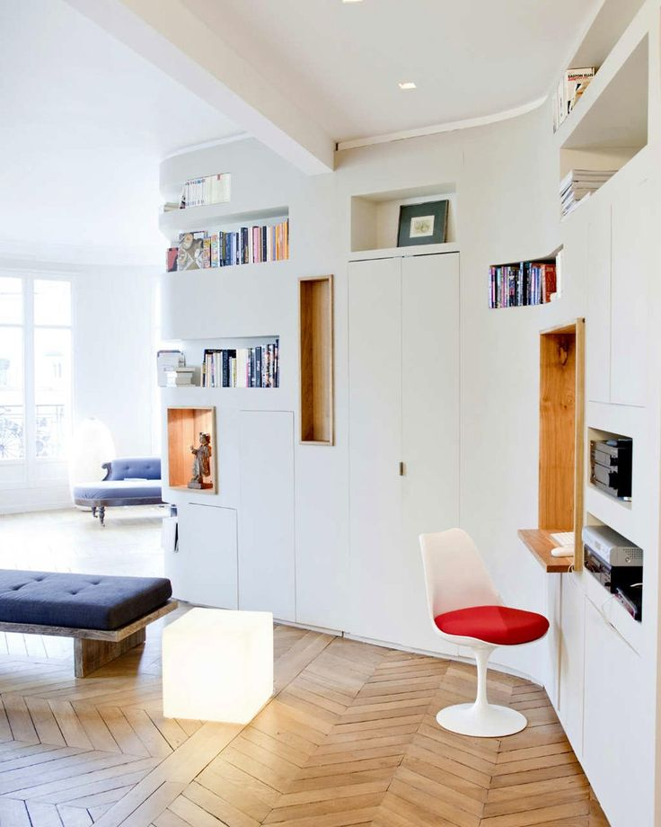 Rimes et Mouvements de Rames — французская квартира от PPil