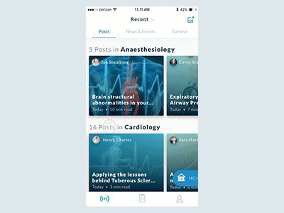 News & Events Feed for Physicians by John Menard