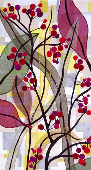 Carol Taylor. Contemporary Art Quilt.