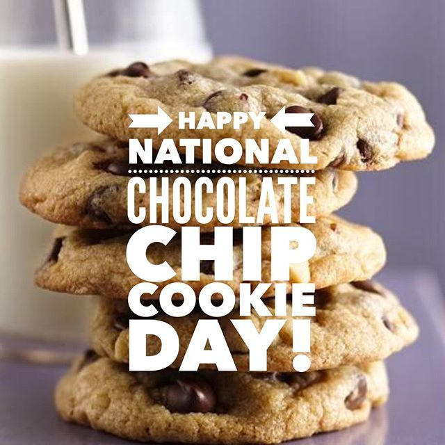Happy National Chocolate Chip Cookie Day Best Chocolate Chip Cookie Recipe Ever Chocolate Chip Cookies Best Chocolate Chip Cookies Recipe