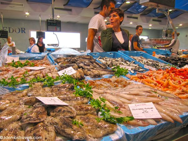 Palamós Fish Market, Girona, Catalunya, Spain