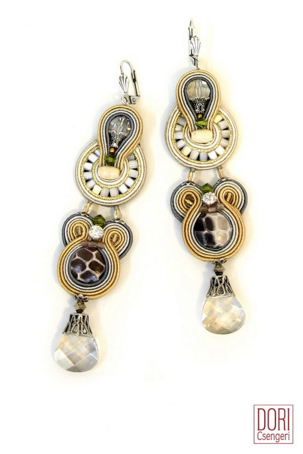 Incanto : Incanto - Dori Csengeri - Hand Embroidered Jewelry - Haute Couture Designer Jewellery