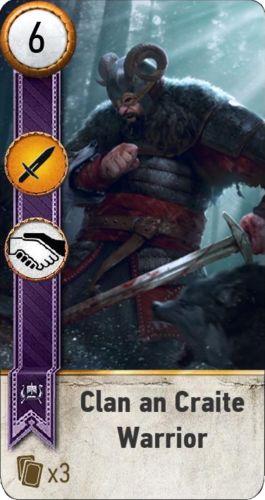Clan an Craite Warrior (gwent card) - Witcher Wiki - Wikia