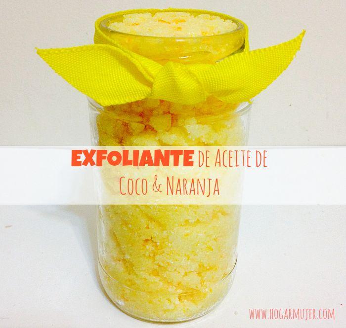 Hogar-Mujer: Exfoliante Para el Cuerpo de Aceite de Coco y Nara...
