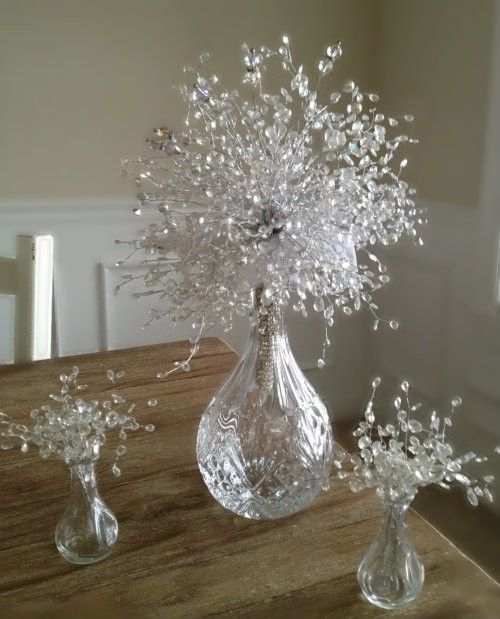 crystal centerpiece sprays | Double click on above image to view full picture