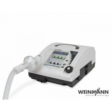 Respirator VENTIlogic LS. Respirator domowy, szpitalny. Aparat ten jest  stacjonarny, służy do wentylacji nieinwazyjnej. Urządzenie jest przeznaczone dla osób dorosłych jak i dzieci. Aparat przeznaczony dla osób mający niewydolność oddechową, duszności.  Parametry oceniane, m.in.: - ciśnienie parcjalne dwutlenku węgla we krwi tętniczej (PaCO2) - natężenie objętości wydechowej (FEV) - szczytowy przepływ wydechowy (PEF) - ciśnienie parcjalne tlenu we krwi tętniczej (PaO2)