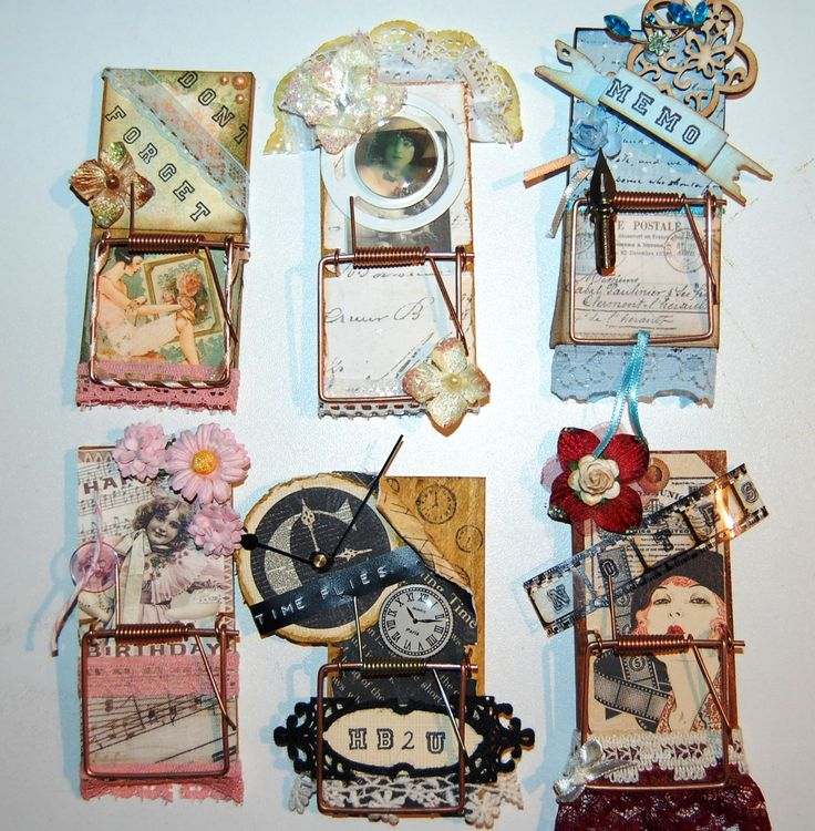 altered mouse traps make great gifts