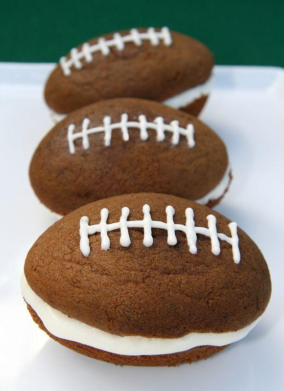 Football whoopie pies!