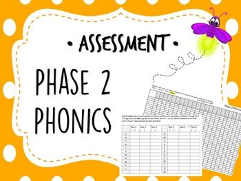 This no prep phase 2 phonics assessment download contains both whole class and individual assessment sheets for all phase 2 phonics words. The phase 2 phonics words assessment download includes a whole class tracker.pdf (A3 sized), an individual assessment.pdf (A4 sized) and whole class/individual assessments available in doc.