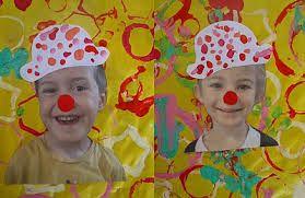 peinture clown maternelles - Recherche Google