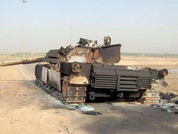 M1 Abrams tocados en Irak y el Mundo