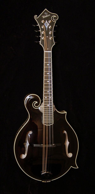 Weber Black Ice Mandolin