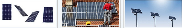 How to make your very own solar panel set-up completely from scratch. Additionally information to do with working with kits and getting extra parts via Ebay. http://netzeroguide.com/build-your-own-solar-power-system.html Commercial Solar Power Systems