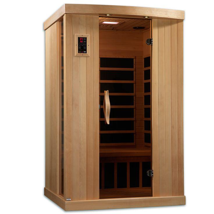 Near Zero EMF 2 Person 6 Carbon IR Sauna