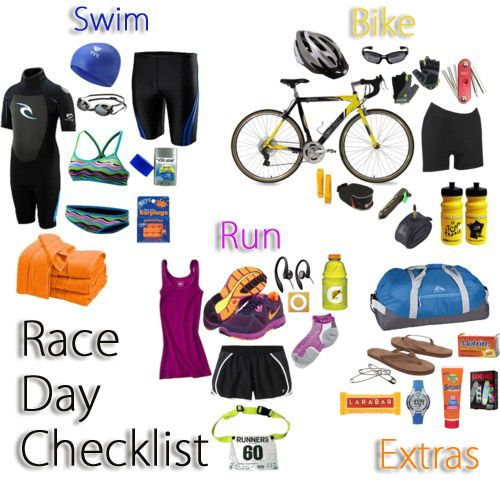 The Blonde Mule: Training For A Triathlon - OMG, SO MUCH Gear!!! $$$