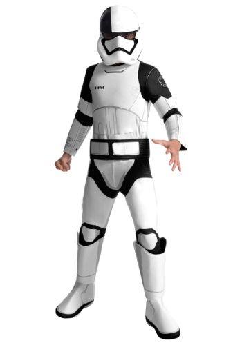 Star Wars The Last Jedi Deluxe Stormtrooper Kids Costume