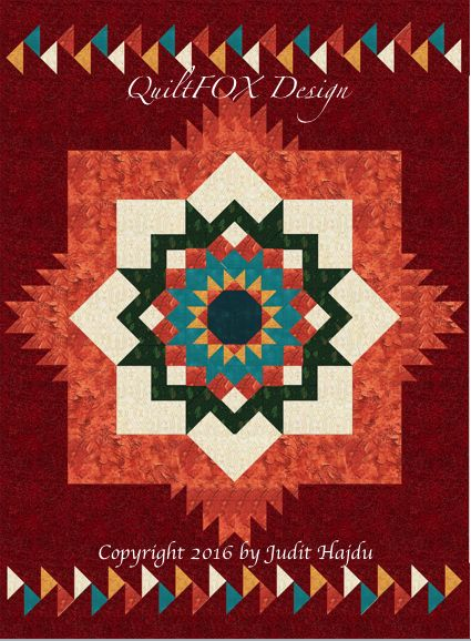 Looking for your next project? You're going to love Santa Fe Sunburst -throw size: 58