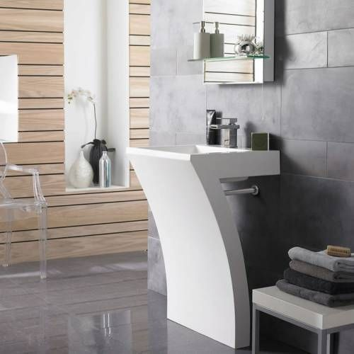 17 meilleures id es propos de lavabo de colonne sur. Black Bedroom Furniture Sets. Home Design Ideas