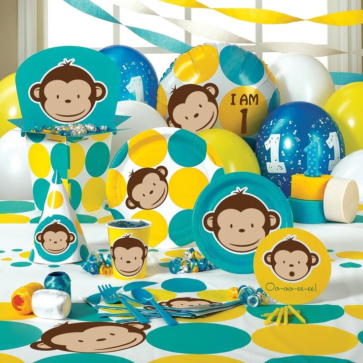 More monkey decorations