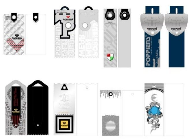 Clothing Tag Design Examples - Google Search | Graphic Design