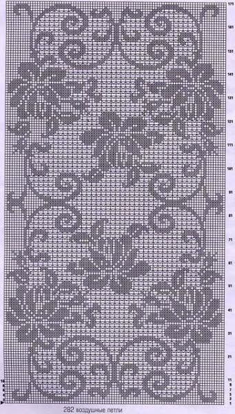 Chart - Filet Crochet...
