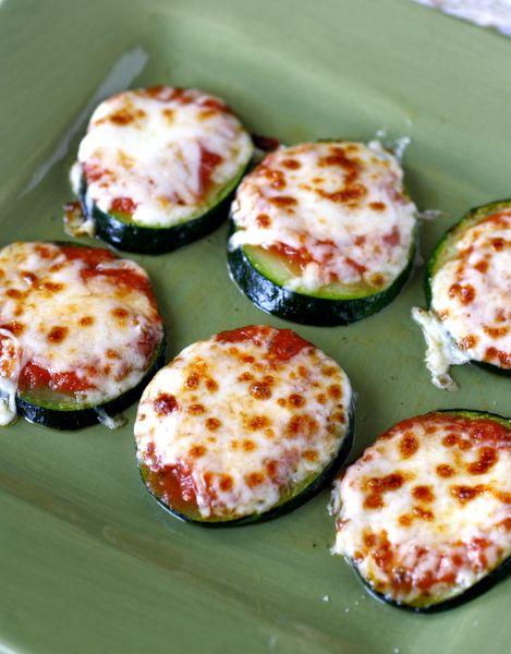 Zucchini Pizza Bites #healthy #lowcarb